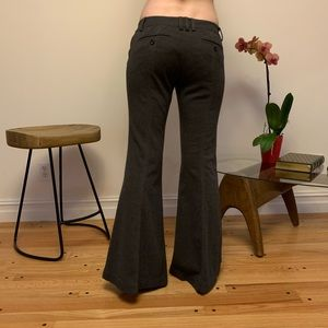 Free People flair bell bottom thick pants